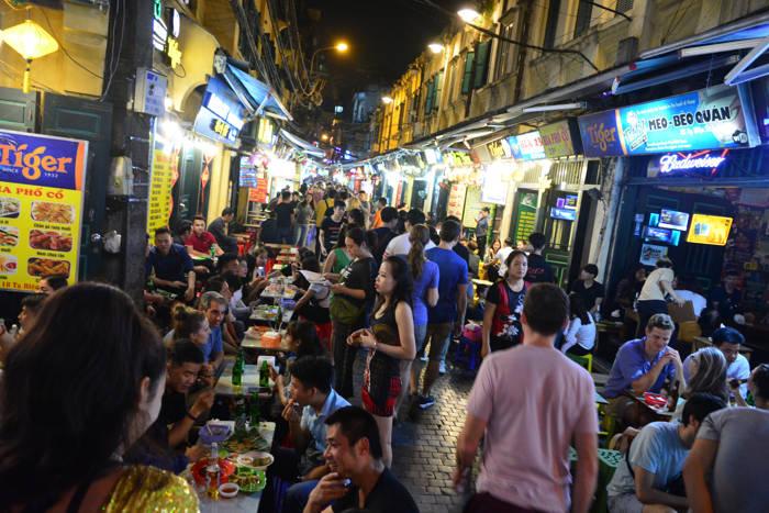 Beer street em Hanói