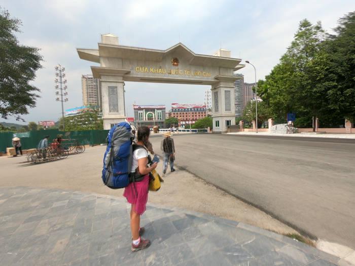 Fronteira Lao Cai - Hekou