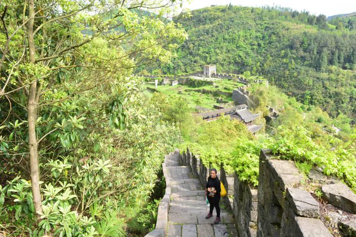 Grande Muralha da China em Fenghuang
