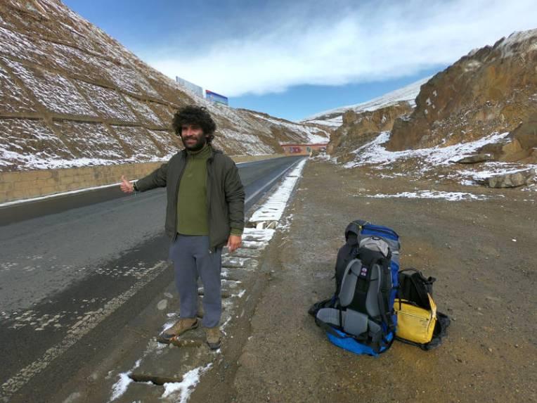 De carona pelo Tibete