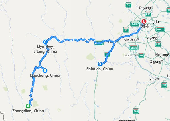 Mochilando pelo Tibete