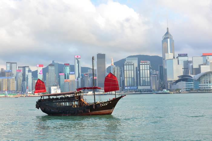 Cruzando a fronteira Shenzhen - Hong Kong