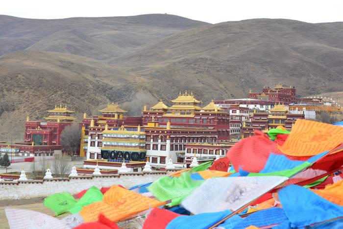 Monastério de Litang, Tibet, China