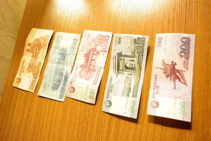 Dinheiro da Coreia do Norte