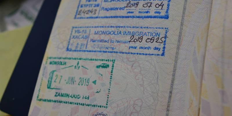 Registro Mongólia