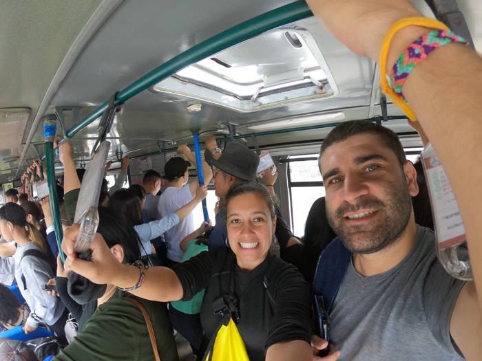 Transporte público em Ulan Bator