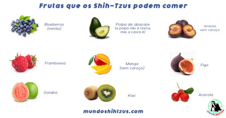 Frutas que os cachorros podem comer