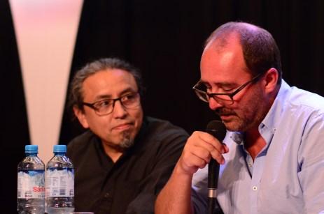 Julio Mendívil y Fred Rohner