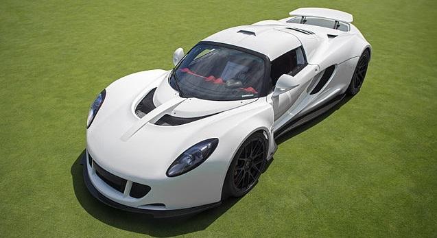 Carros mais rápidos do mundo - Hennessey Venon GT