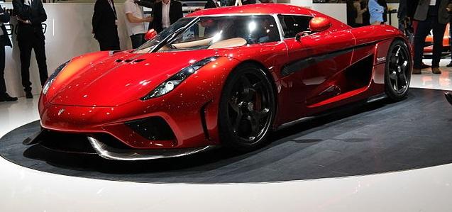 Carros mais rápidos do mundo - Koenigsegg Regera