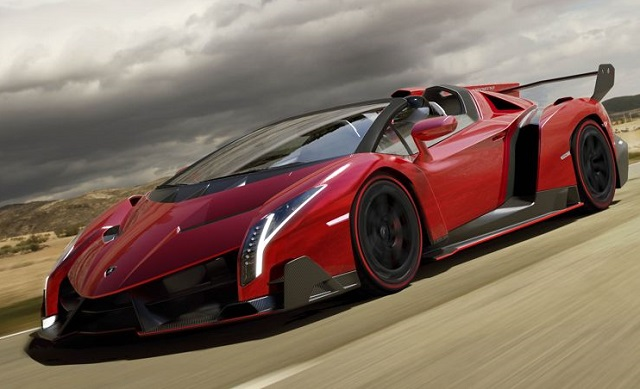 Top 10 carros mais caros do mundo - Lamborghini Veneno
