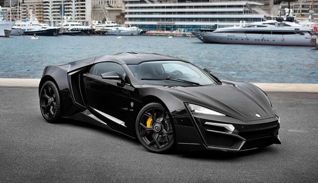 Top 10 carros mais caros do mundo - Lykan HyperSport