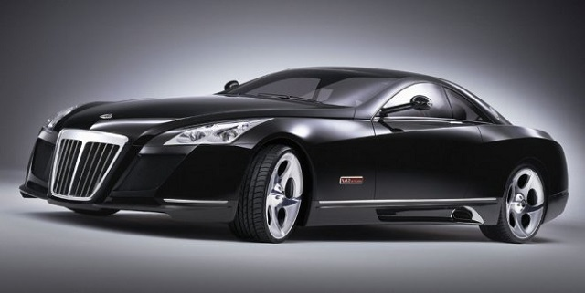Top 10 carros mais caros do mundo - Mercedes Benz Maybach Exelero