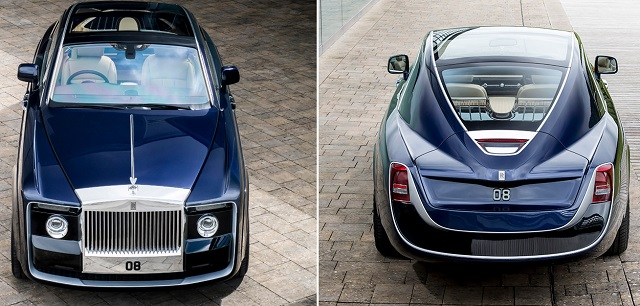 Top 10 carros mais caros do mundo - Rolls Royce Sweptail