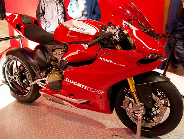 Top 10 motos mais caras do Brasil - Ducati 1199 Panigale R