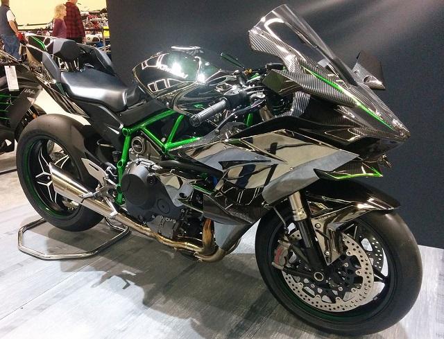 Top 10 motos mais rápidas do mundo - Kawasaki Ninja H2R