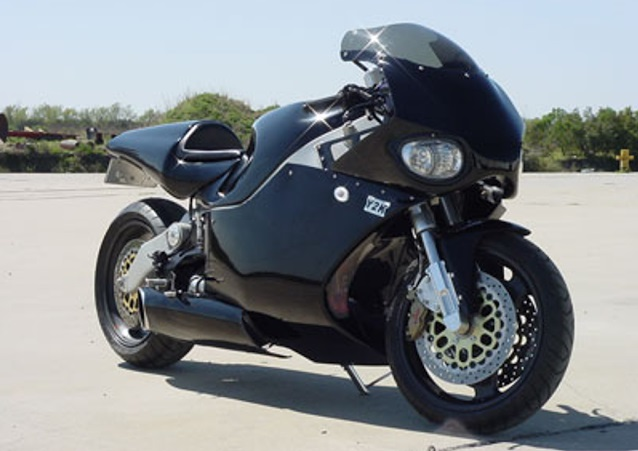 Top 10 motos mais rápidas do mundo - MTT Turbine Superbike Y2K