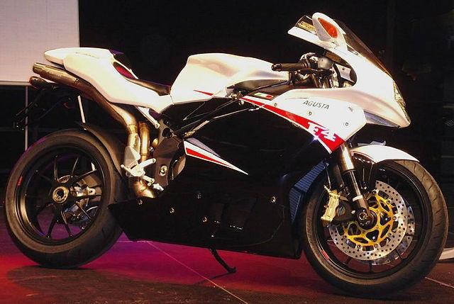 Top 10 motos mais rápidas do mundo - MV Agusta F4 1000R 312