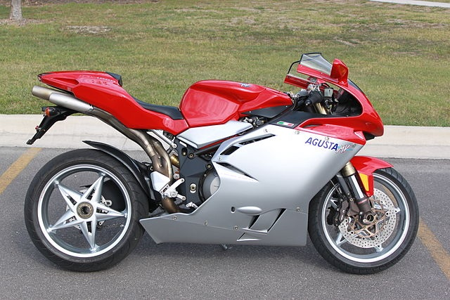 Top 10 motos mais rápidas do mundo - MV Agusta F4 1000S