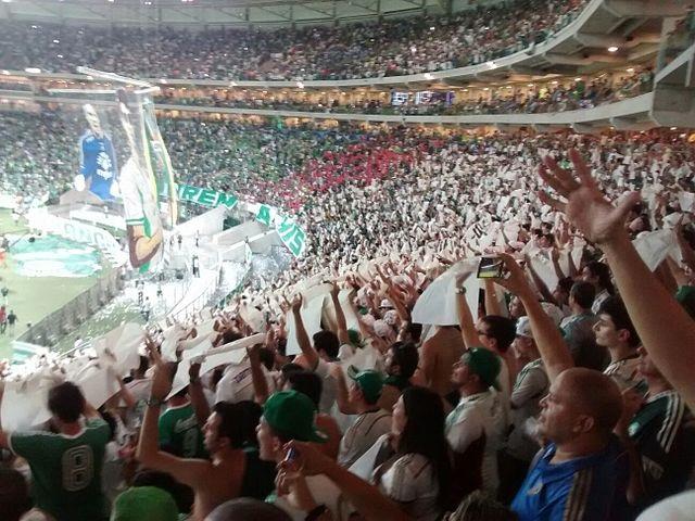 Top 10 clubes brasileiros com mais sócios-torcedores - Palmeiras