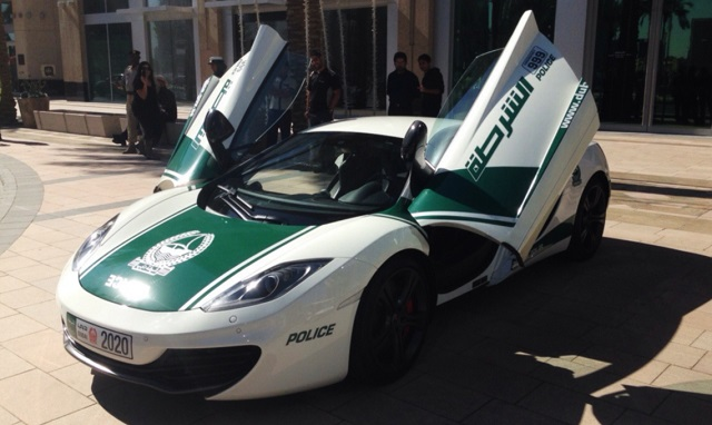 Top 10 carros de polícia mais caros do mundo - Mc Laren MP4-12C