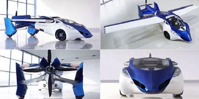 Top 10 veículos mais incríveis do mundo - Aeromobil 3.0
