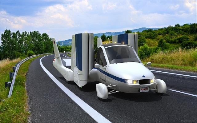 Top 10 veículos mais incríveis do mundo - Terrafugia Transition