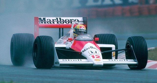 Top 10 pilotos de Fórmula 1 com mais voltas consecutivas na liderança - Ayrton Senna da Silva