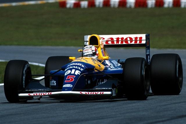 Top 10 pilotos de Fórmula 1 com mais voltas consecutivas na liderança - Nigel Mansell