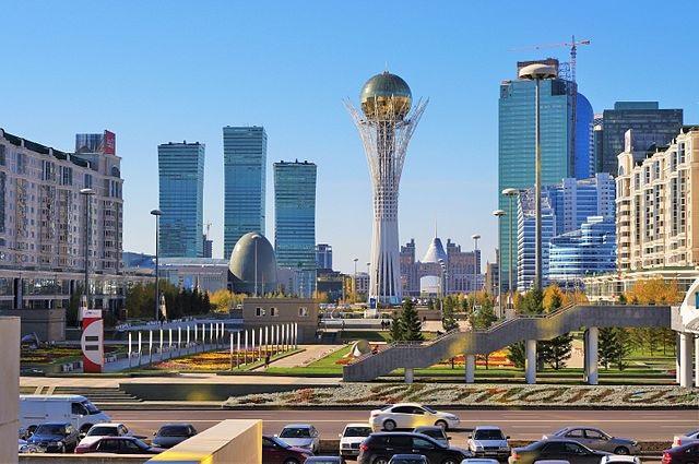 Top 10 maiores países do mundo - Cazaquistão