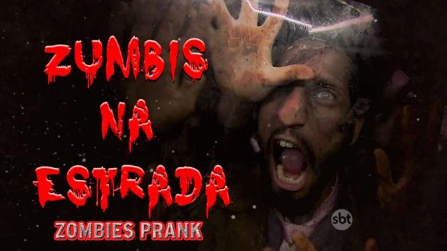 Top 10 pegadinhas mais assustadoras do Silvio Santos - Zumbis na Estrada