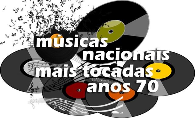 Top Anos 70 Músicas Nacionais Mais Tocadas • Mundo Top 10