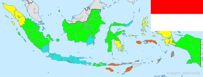 Top 10 países mais populosos do mundo - Indonésia