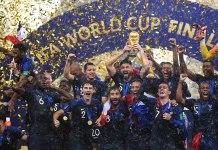 Top 10 maiores campeões da Copa do Mundo de Futebol