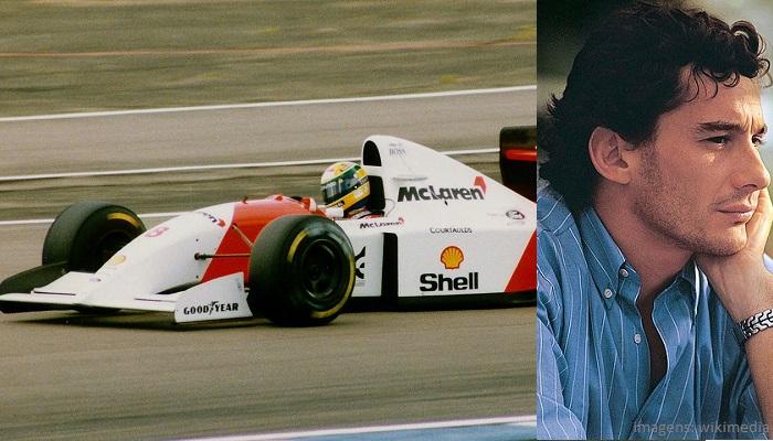 Top 10 maiores campeões da Fórmula 1 - Ayrton Senna