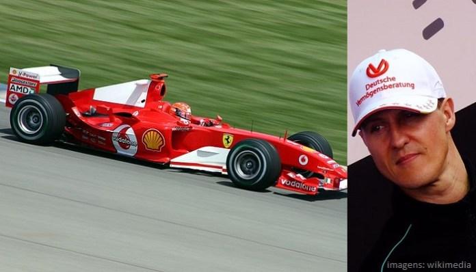 Top 10 maiores campeões da Fórmula 1 - Michael Schumacher