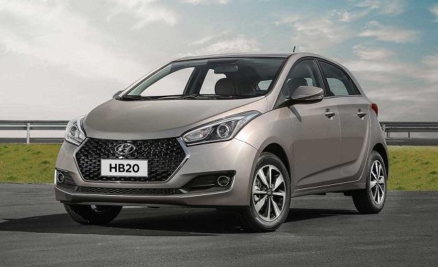 Top 10 carros mais vendidos no Brasil - Hyudai HB20