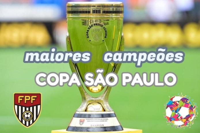 Top 10 maiores campeões da Copa São Paulo de Futebol Júnior