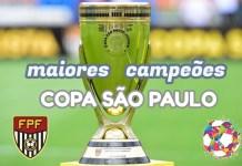 Campeões da Copa São Paulo de Futebol Júnior