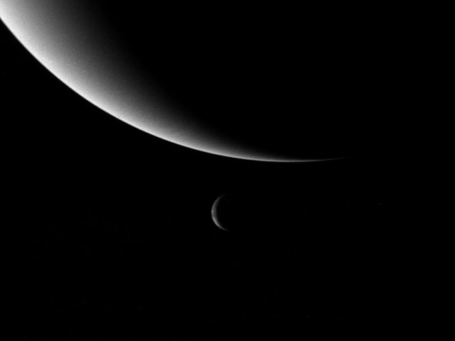 A lua de Netuno nem sempre esteve lá