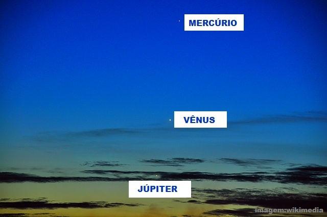 Dá para ver Mercúrio algumas vezes da Terra a olho nu