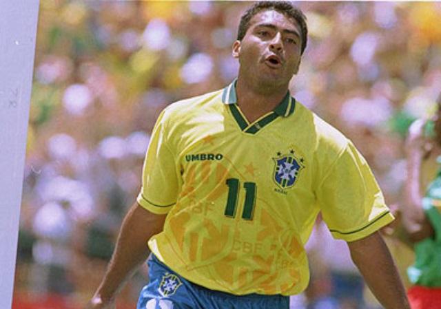Maiores artilheiros da seleção brasileira - Romário
