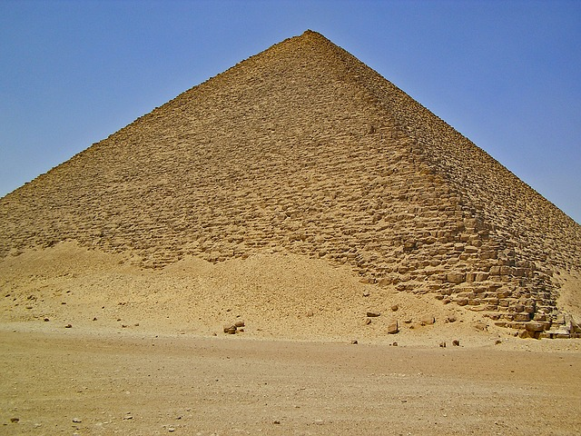 Pirâmides na África para dar e vender