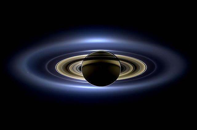 Os famosos anéis de Saturno