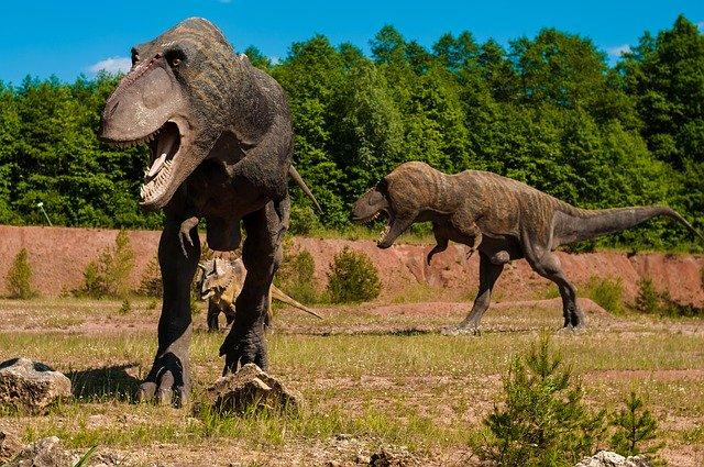 Adaptação dos dinossauros em terreno hostil