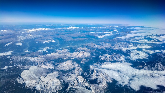 Atmosfera bem grande da Terra