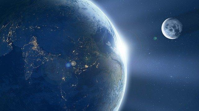 A Lua do Planeta Terra