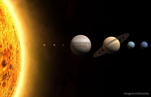 Uma massa imensa chamada Sol