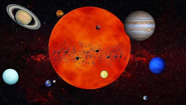 O tempo de cada planeta do Sistema Solar