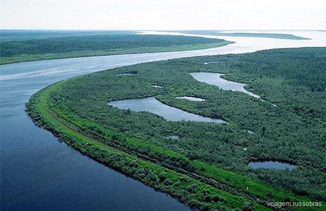 Maiores rios do mundo - Rio Yenisei